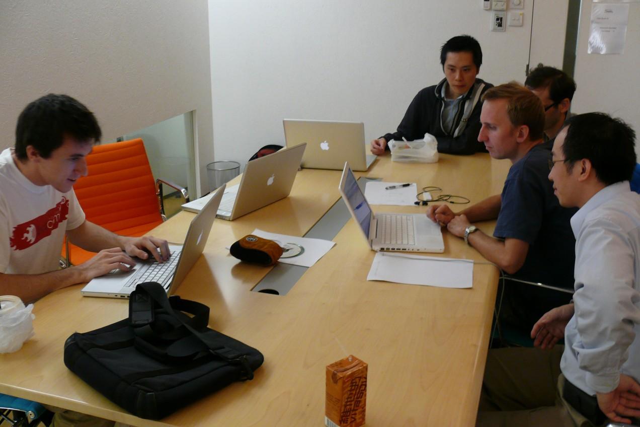 HKDUG working at SOHOlife's Office