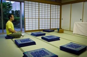 Meditation in Tokyo